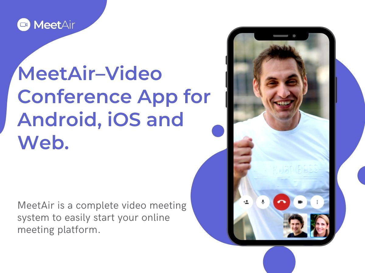 MeetAir-online-video-conference-application